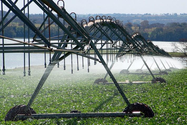 Irrigação. Foto: EBC