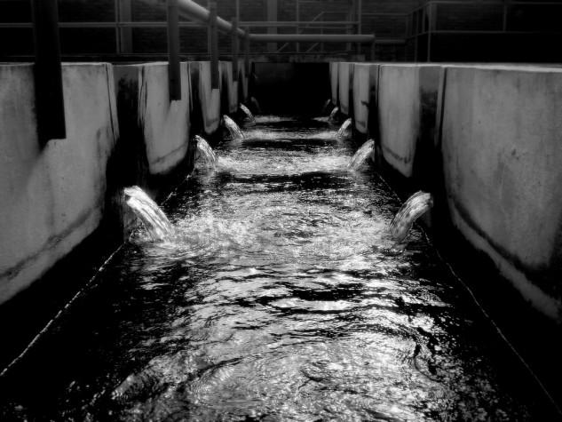 Água e esgoto