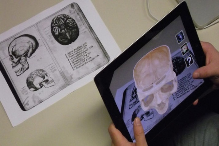 app iskull an augmented human skull - Realidade aumentada para além do Pokémon Go; saiba o que é o conceito