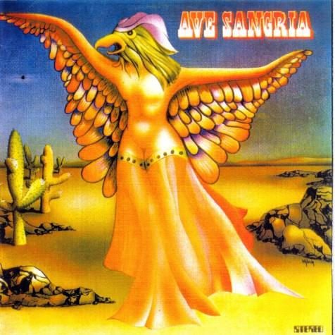 Capa do primeiro e único disco da Ave Sangria