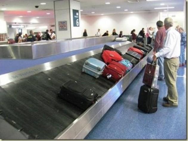 Desembarque de malas pode ser acompanhado por câmeras e monitores