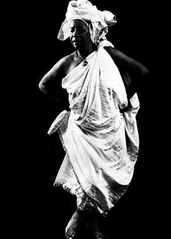 Bailarina Mercedes Baptista