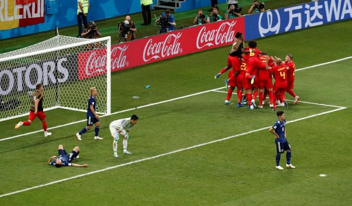Copa 2018: Bélgica x Japão