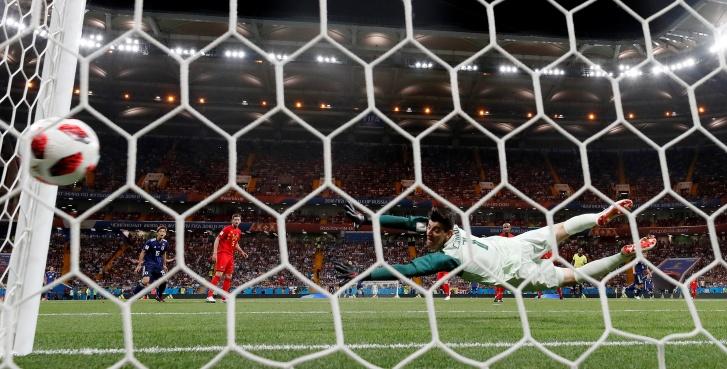Bélgica X Japão, Copa 2018