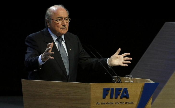 Presidente da Fifa, Joseph Blatter