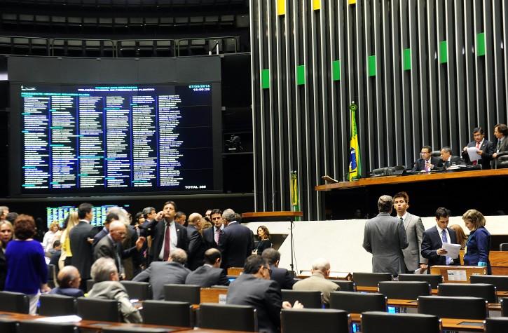 Plenário da Câmara: votação da MP 590