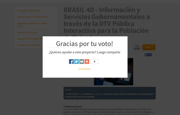voto brasil 4d