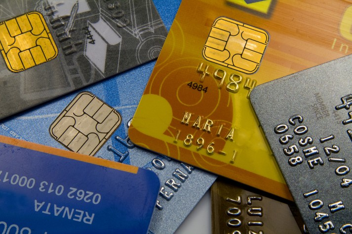 Cartões de crédito endividamento