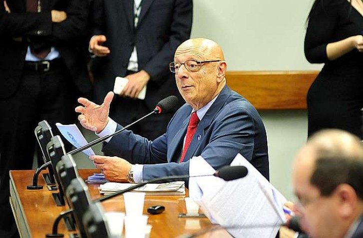 O relator do projeto sobre separação de presos conforme a gravidade, Deputado Esperidião Amin (PP-SC)