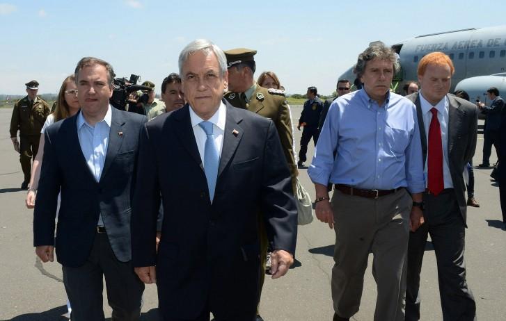Piñera anuncia que vai utilizar lei antiterrorista contra ataques
