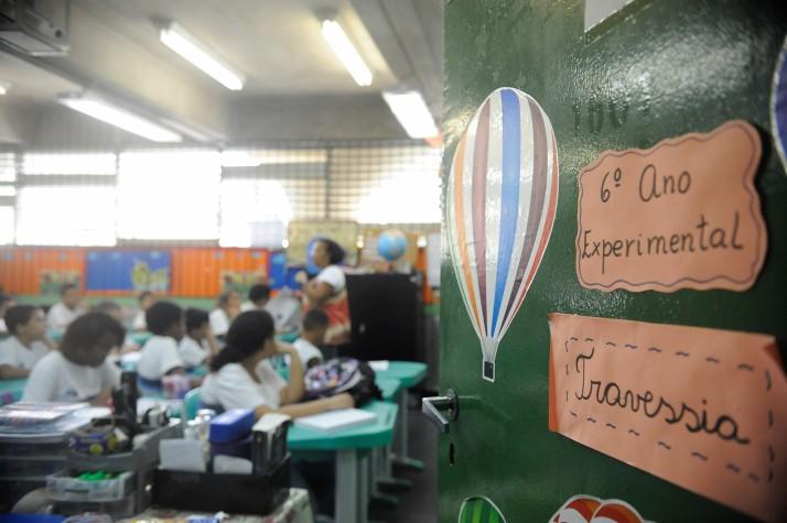 Escola Rio de Janeiro sala de aula estudantes