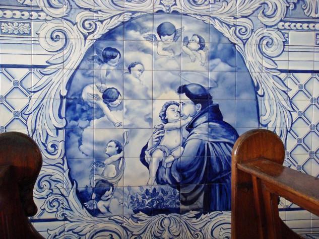 Santo Antônio - imagem em igreja de portugal
