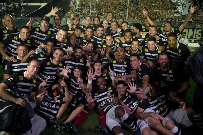 Corinthians hexacampeão foto da vitória 2015