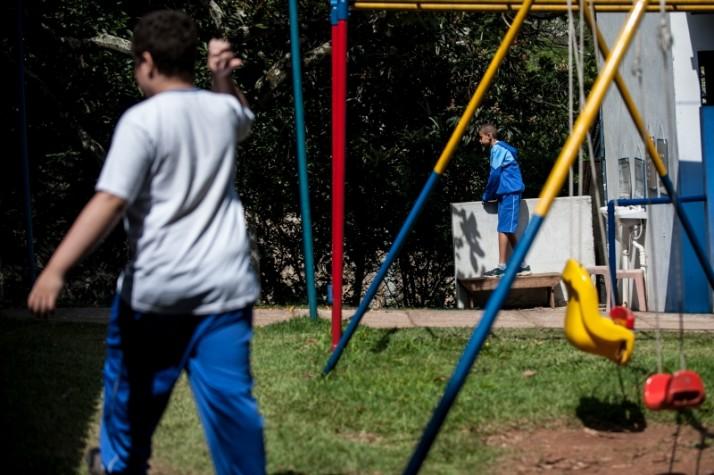 Criança autista - Dia Mundial - Autismo