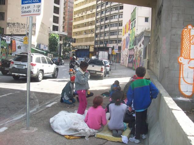 Imagem - Brasil tem 24 mil crianças e adolescentes em situação de rua
