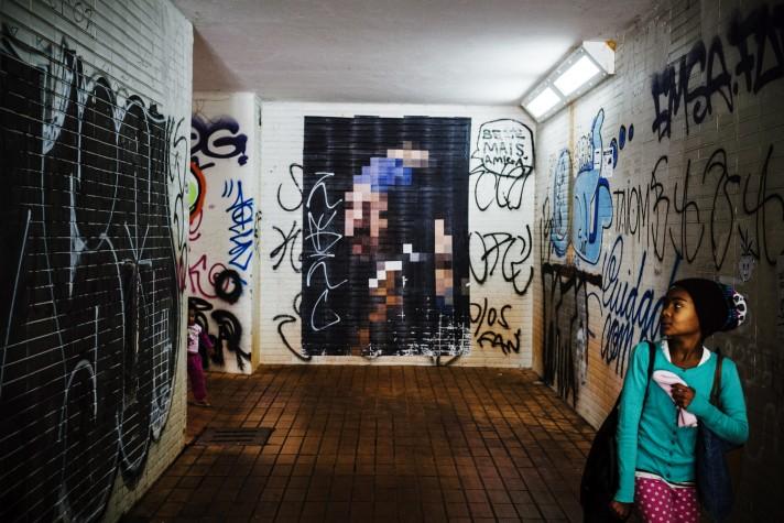 Graffiti_passagem_Eixão