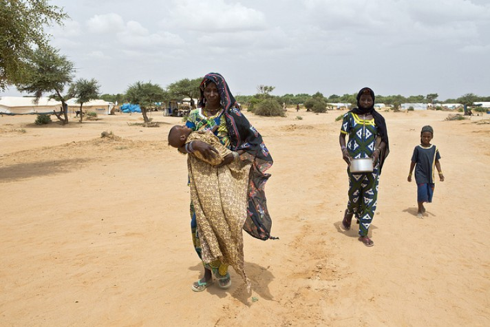 Desnutrição subnutrição pobreza Mali