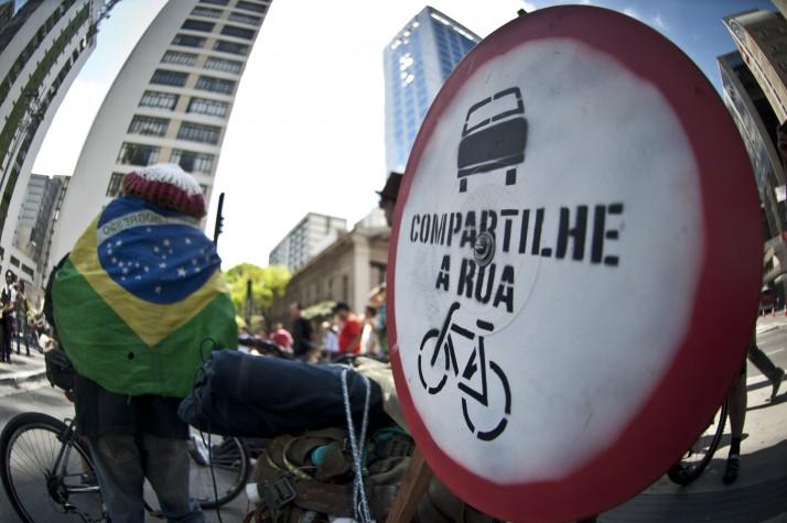 Dia Mundial Sem Carro em São Paulo
