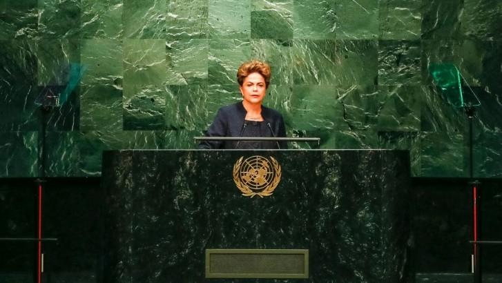 Dilma na Assembleia da ONU
