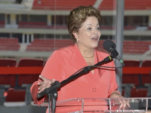 Presidenta Dilma Rousseff inaugura Estádio Nacional Mané Garrincha