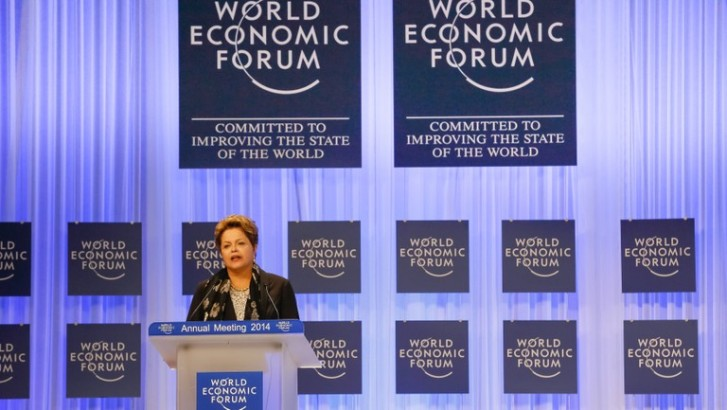 Presidenta Dilma discursa no Fórum Mundial Econômico, em Davos