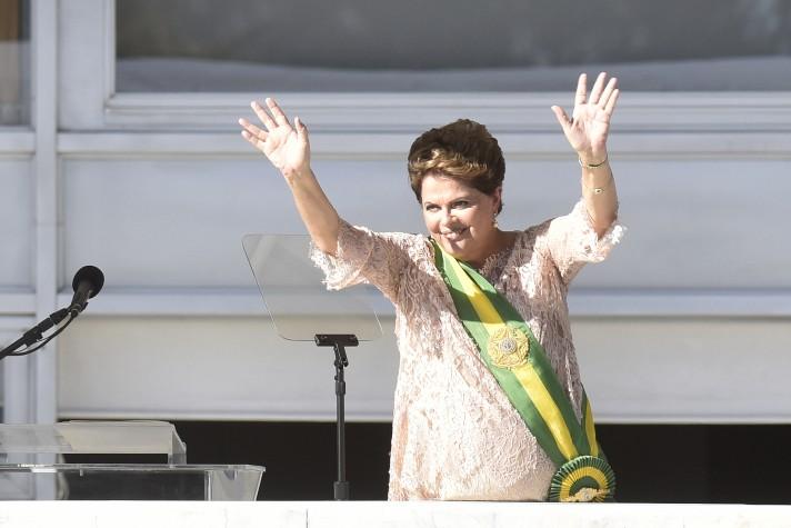 Cerimônia de posse reeleição Dilma Rousseff