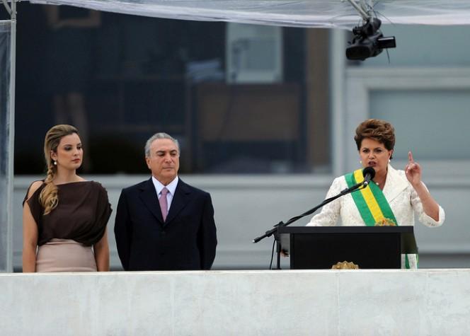 Dilma Rousseff discursa na posse de 2011