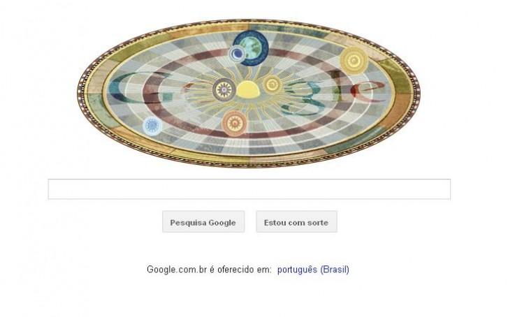 Doodle Nicolau Copérnico