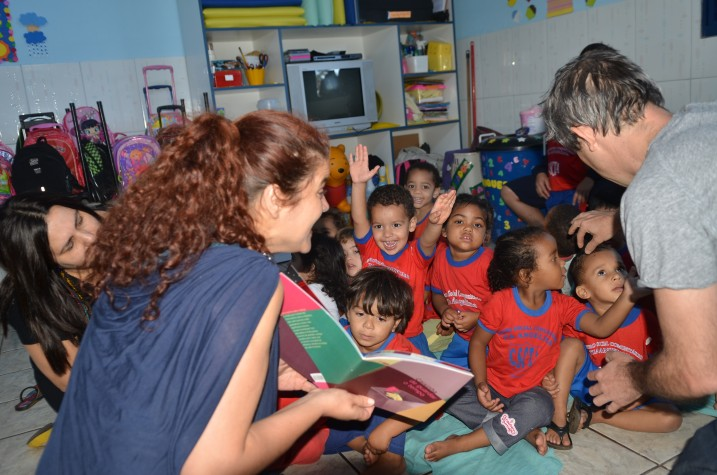 Festival Itinerante leva literatura para bebês no DF 2
