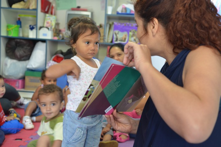 Festival Itinerante leva literatura para bebês no DF