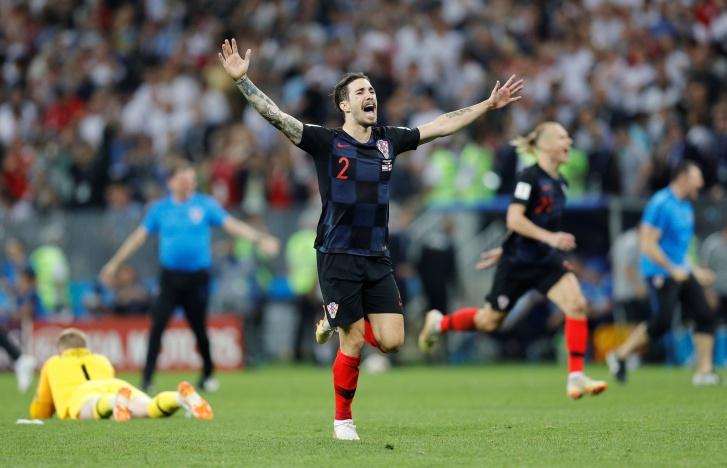 england croatia reuters darren staples 3 - Croácia vira e garante vaga para a final da Copa do Mundo; acompanhe