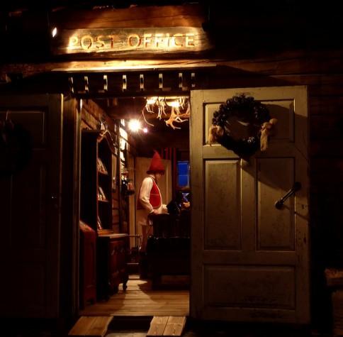 Entrada do escritório do Papai Noel