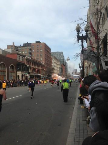 Explosão na Maratona de Boston