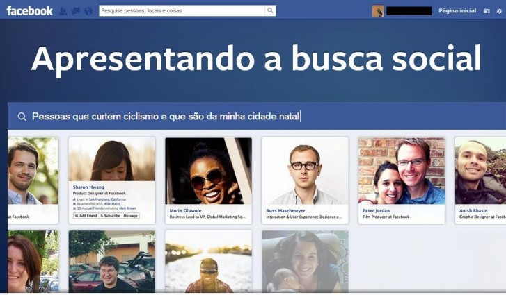 Graph Search é o novo sistema de buscas do Facebook