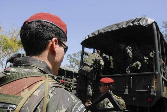 Forças Armadas iniciam operações de segurança para a Eleição 2012