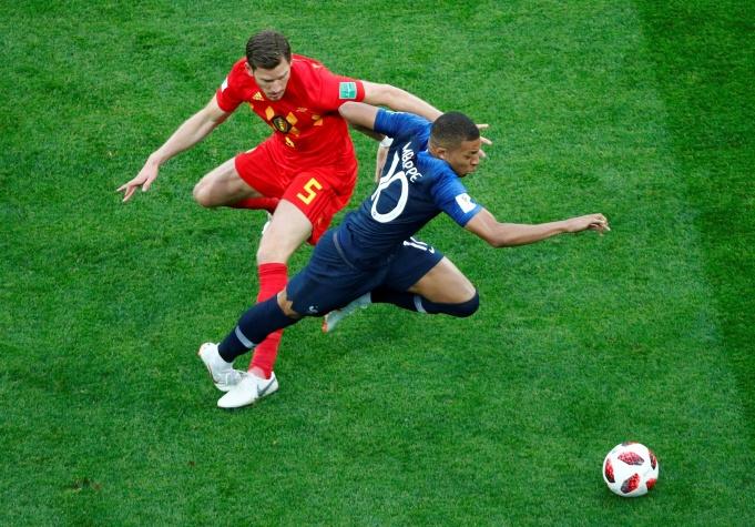Copa 2018: França x Bélgica, pelas semifinais