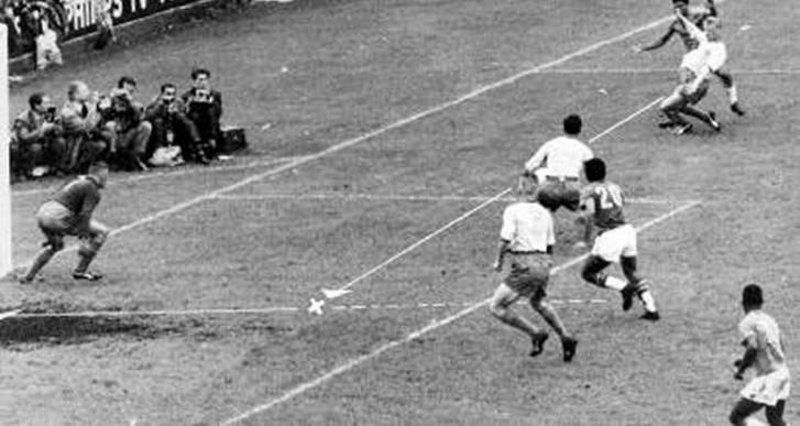 Primeiro gol do Brasil na final da Copa de 1958