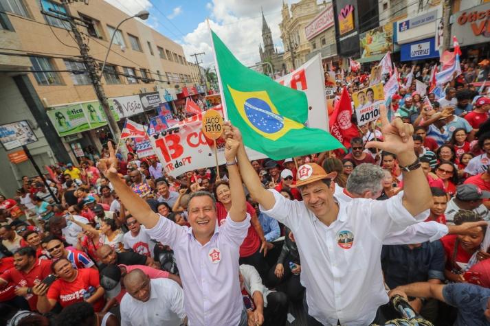 Fernando Haddad em campanha - dia 6/10/2018