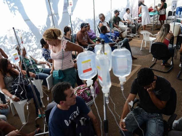 Hospital de Campanha contra a dengue