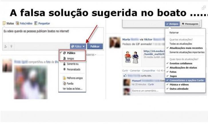Outras mensagens desmentindo o Hoax já apareceram no Facebook