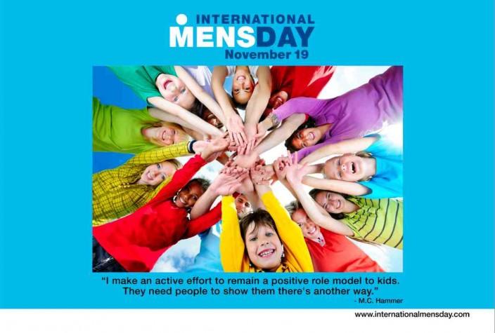 Dia Internacional do Homem é comemorado em 19 de novembro