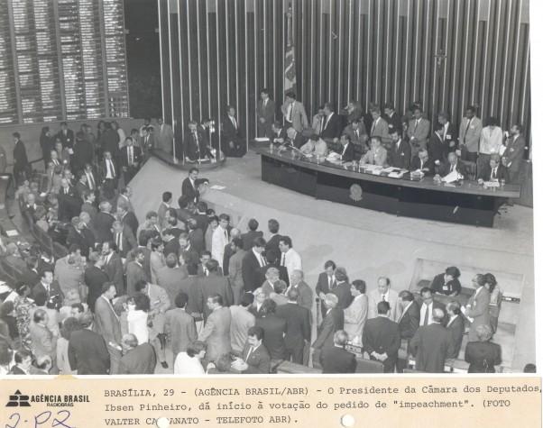 Votação no Senado do processo de impeachment do ex-presidente Fernando Collor