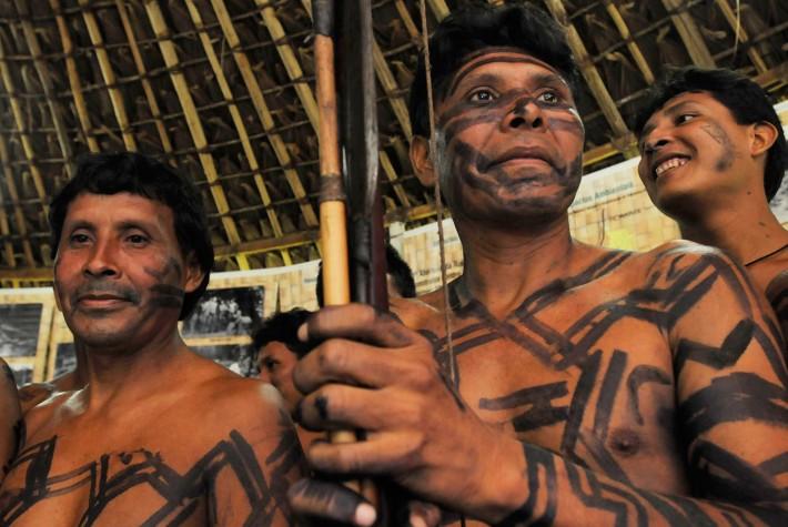 Indios Waimiri-Atroari