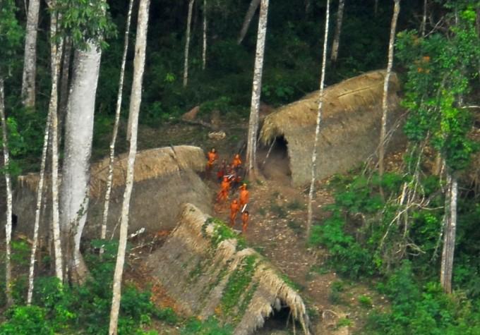 Indígenas isolados e não contatados no Acre