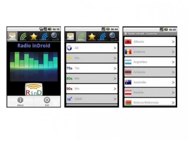 O Radio Indroid só está disponível para quem tem sistema Android no celular ou tablet