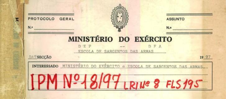 IPM 18/97 não tinha objetivo de desvendar o caso, mas apresenta conclusões oficiais do Exército