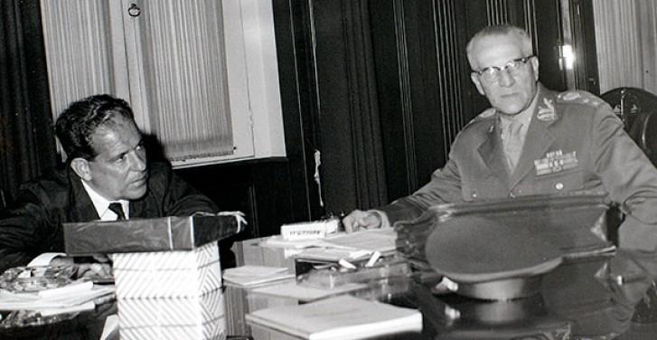 João Goulart em reunião com Peri Bevilacqua