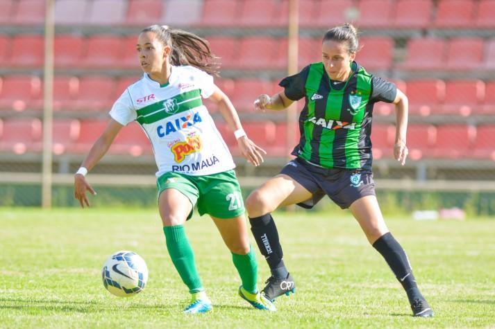 América- MG x Rio Preto, pelo grupo 02 do Brasileirão Feminino