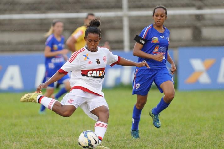 Duque de Caxias x C.R. Flamengo, pelo grupo 04 do Brasileirão Feminino