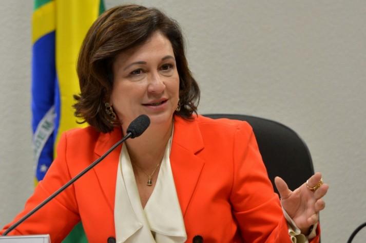 Na foto: A senadora Katia Abreu, presidenta da CNA.